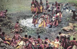 Fijian Firewalking, Mystic Rites & Secret Preparation, Fiji, 1940-1960s