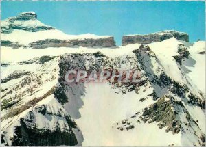 Modern Postcard The Pyrenees Overlooking Gavarnie Headset (altitude 3006 m) a...