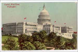 DC - Washington. Capitol, West Front