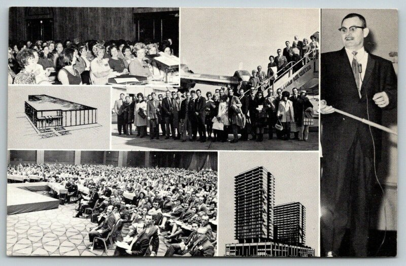 Fort Worth Texas~Parker Chiropractic Research~Hotel Seminars~Plane~Speaker~1950s