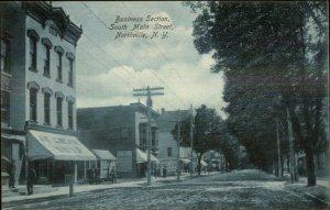 Northville NY South Main St. c1910 Postcard