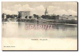 Old Postcard Tarascon General view