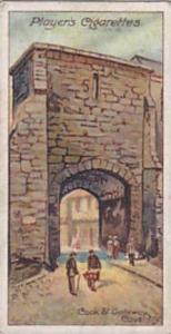 Player Vintage Cigarette Card Celebrated Gateways 1909 No 44 Cook Street Gate...