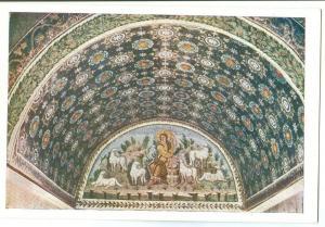 Ravenna, Mausoleo di Galla Placidia Lunetta del Buon Pastore
