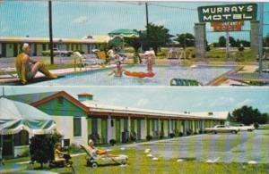 North Carolina Fayetteville Murray's Motel and swimming Pool 1968