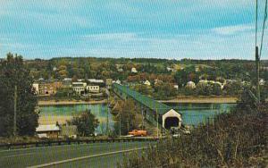 Canada New Brunswick Hartland Longest Covered Bridge In The World