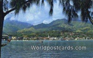 Le port de Papeete Papeete Harbor French Polynesia Unused