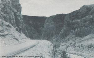 Wind River Canyon near Thermopolis WY, Wyoming - Conoco Card