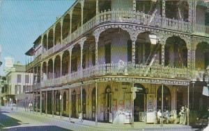 Louisiana New Orleans Picturesque Old Royal Street 1959