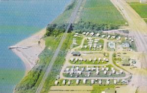 Camping Au Ruisselet , Caplan Gaspesie , Quebec , Canada , 40-60s