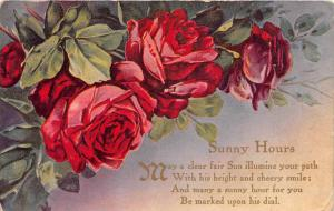 Birthday  Red Roses, Sunny Hours Poem