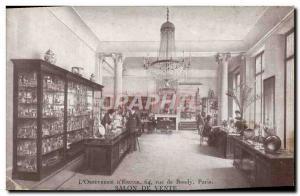 Postcard Old L & # & # 39Ercuis 39orfevrerie of Rue Bondy Paris sale Salon