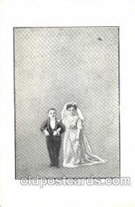 Smallest Person, Midget, Midgets, Dwarf,  Circus Postcard Post Card
