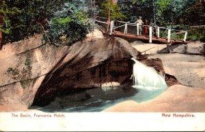 New Hampshire Franconia Notch The Basin