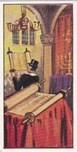 West London Synagogue Trade Card Jewish Life In Many Lands 1961 No 7 Bereshit