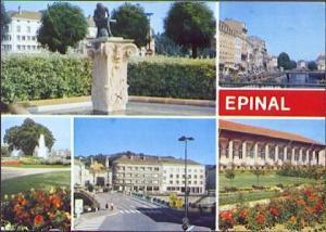 POSTAL 61146: Epinal (Vosges)