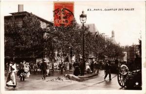 CPA PARIS (1e) Quartier des Halles (537286)