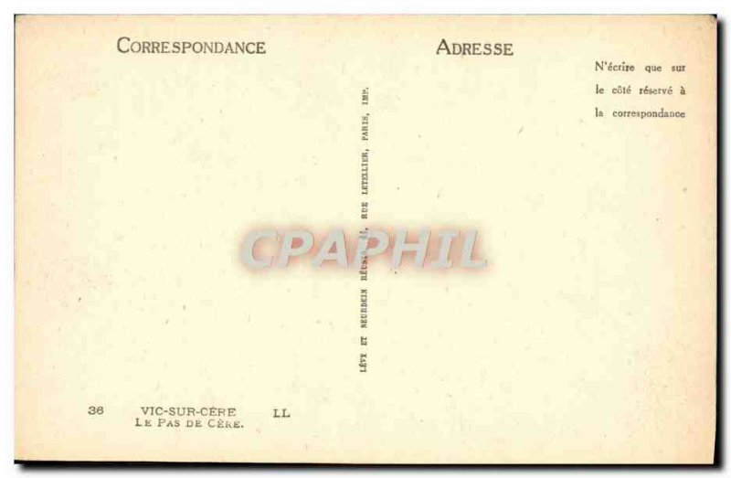 Postcard Old Vic on Cere Cere The no