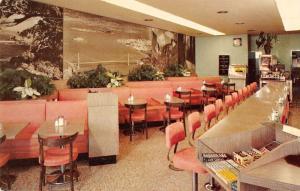 San Francisco California inside Charlie's Park-In Restaurant vintage pc ZA440604
