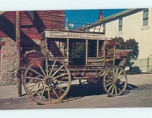Unused Pre-1980 ANTIQUE STAGECOACH AT MUSEUM Virginia City Montana MT hs9379