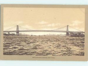 Pre-1907 BRIDGE SCENE New York City NY H9168