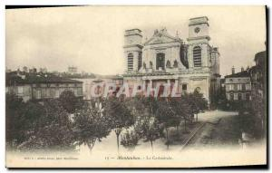 Old Postcard Montauban Cathedral