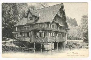 Wirthschaft Zur Treib, Lake Lucerne, Switzerland, 1900-1910s