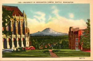 Washington Seattle Campus Scene University Of Washington