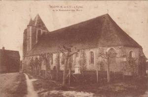 L'Eglise Et Le Monument Aux Morts, Blevy (Eure et Loir), France, 1900-1910s