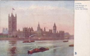 Tucks London The Houses Of Parliament From The River 770