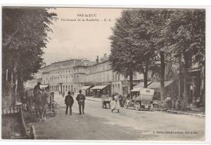 Boulevard de la Rochelle Bar le Duc Lorraine France 1910s postcard