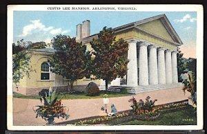 USA Postcard Custis Lee Mansion Arlington Virginia