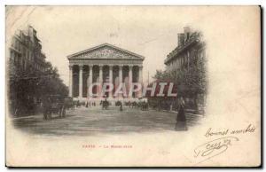 Paris Postcard Ancient Church of the madeleine