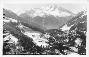 Badgastein m. Rathausberg im Winter Mountain Panorama