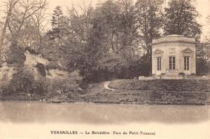 Vintage Postcard VERSAILLES Le Belvedere Parc Du Petit-Trianon
