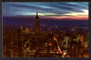 Night View,Empire State Building,New York,NY