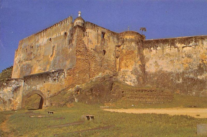 Kenya Mombasa Fort Jesus built by the Portuguese in 1593 Museum