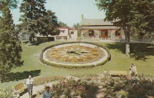 GUELPH , Ontario , 1950-60s ; Floral Clock , Riverside Park