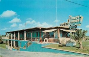 FL, Boco Raton, Florida, The Pilot House Motel, Dexter Press No. 16208-B