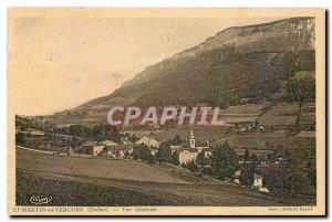 Postcard Old St Martin en Vercors Drome General view