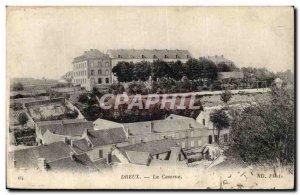 Dreux Postcard Old Barracks