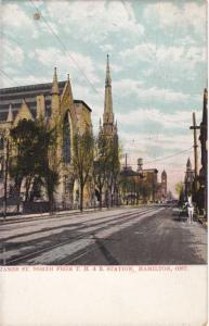 Baptist Church - Trolley Tracks - James St - Hamilton, Ontario, Canada - DB