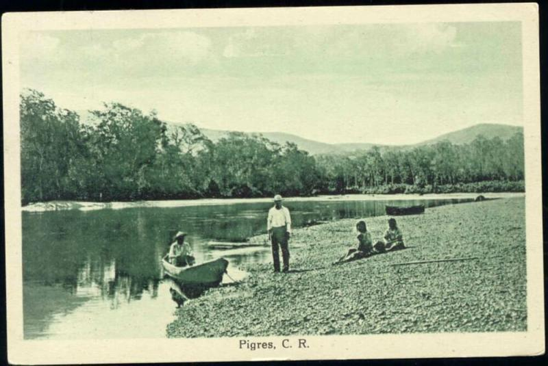 costa rica, PIGRES, Rowing Boat (1930s)