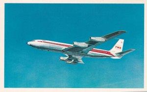 TWA Starstream Jet airplane , 60-70s