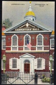 Pennsylvania PHILADELPHIA Carpenter's Hall - LINEN