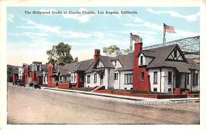 Hollywood Studio of Charles Chaplin, Los Angeles, CA Movie Star Actor Unused