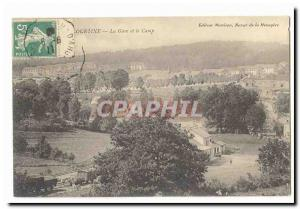 Creuse La Courtine Old Postcard The station and the camp