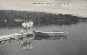 Maine Crystal LAke Gray Camp Gregory Artvue