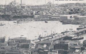 Old Bridge over the Golden Horn , Constantinople , 00-10s