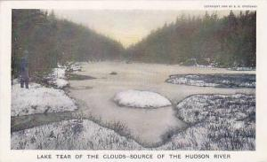 Lake Tear of the clouds source of the Hudson River, New York, 00-10s,